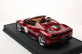 ferrari 458 back ferrari 458 spider hard top 1 18 mr collection models