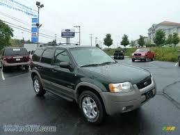 Ford Escape Horsepower - 2002 ford escape xlt v6 4wd in dark highland green metallic