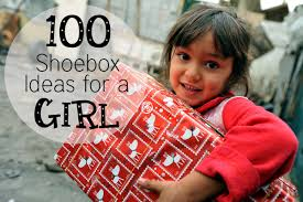 100 shoebox ideas for girls occ gifts see jamie blog