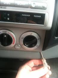 How Much To Install An Aux Port In Car Cheap Mod Diy Aux Input In A 2005 2008 Factory Head Unit Tacoma