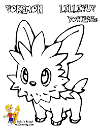 sharp pokemon black white coloring victini swoobat free