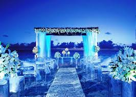 wedding theme blue theme for royal wedding ceremony weddceremony