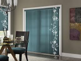 patio door draperies sliding glass door blinds treatments for
