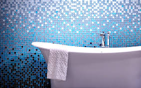 bathroom tile blue glass tiles bathroom blue glass tiles