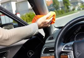 Cloth Car Seat Cleaner Car Interior Cleaning Stock Photos Royalty Free Car Interior