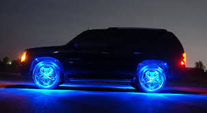 tire light on car led underbody lights give your ride an other worldly glow