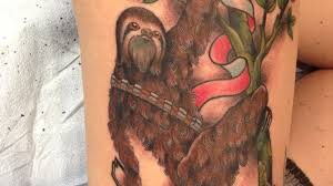 inked wednesday 126 u2013 sloth chewbacca twin peaks and more by