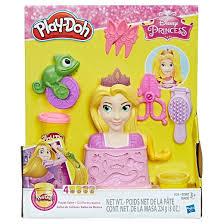 play doh royal salon featuring disney princess rapunzel target