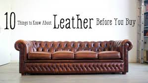 Brown Bonded Leather Sofa Leather Furniture Guide Top Grain To Bonded Leather Dengarden