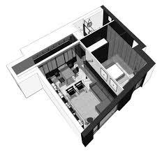 Bachelor Apartment Floor Plan by Cismigiu Apartment Bogdan Ciocodeica U2022 Architect