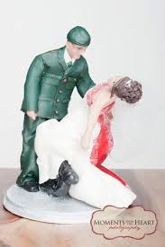 Wedding Toppers Personalized Military Wedding Cake Topper Sculpted By Elizabeth