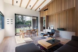 Living Room Design Nz House Under Eaves In New Zealand By Mrtn Architects