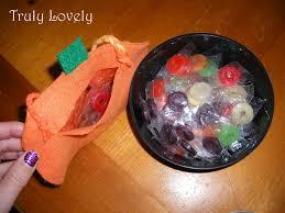 halloween candy bag jack o lantern halloween treat bag