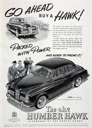 humber hawk graces guide