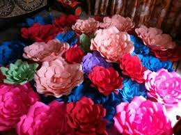 flowers for sale paper flowers whole sale various types at rs 100 each