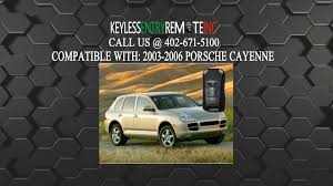 how to replace porsche cayenne key fob battery 2003 2004 2005 2006