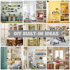 decorating built ins 10 diy built in ideas decorating inspiration inspiration diy