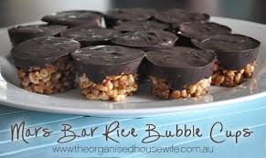 mars bar rice bubble slice the organised housewife