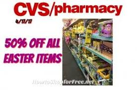 wow all easter items on clearance 50 at cvs starting 4 17