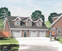 garage plan at familyhomeplans com home design country cape cod