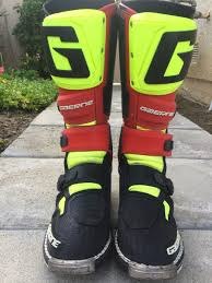 gaerne sg12 motocross boots gaerne sg12 for sale for sale bazaar motocross forums