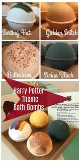 Harry Potter Bathroom Accessories Sorting Hat Bath Bombs Harry Potter Inspired By Scentd On Etsy