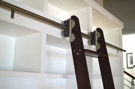 bookshelves with a walnut rolling ladder made in hawaii