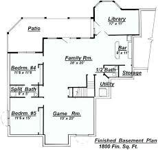 basement floor plans ideas walkout bungalow floor plans 2 bedroom walkout basement floor plan