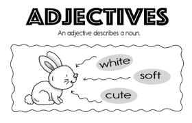adjective worksheets edhelper com