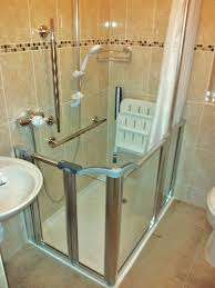 Disabled Half Height Shower Doors For The Disabled From Home Healthcare Adaptations In Dublin