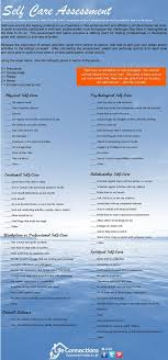 Counselor Self Care Tips Self Care Assessment Safety Sanity