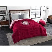 Maroon Comforter Ncaa Alabama Crimson Tide Twin Full Bedding Comforter Walmart Com