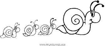 escargot 39 animaux u2013 coloriages à imprimer