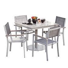 Vintage Bistro Table And Chairs Travira 5pc Metal Patio Bistro Set Ash Vintage Teakwood Titanium