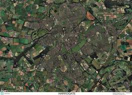 map uk harrogate skyview harrogate aerial photo map stop