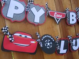 cars birthday banner template best template examples