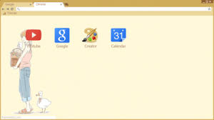 chrome themes cute cute chrome themes themebeta