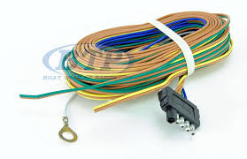 wiring harness 5 flat 35ft for adding disc brakes to trailer