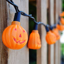 halloween novelty light strand 20 mini pumpkins