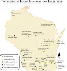 Map Of Wisconsin by Updated Map Of Wisconsin Small Processing Facilities 2 0 U2013 Uw