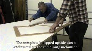 how to build concrete countertops part 1 template and mold