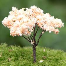 2017 sale pink artificial tree miniatures plants