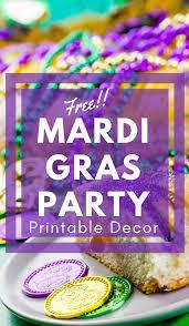 mardi gras ideas mardi gras party ideas free mardi gras printable decor