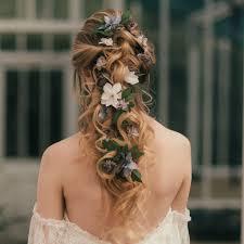 flower hair elsa flower hair vine by vintage notonthehighstreet