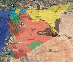 syria on map best 25 syria situation map ideas on syria now