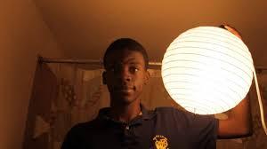 china ball video lighting china ball lighting test youtube