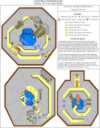 Super Mario World Level Maps by Tick Tock Clock Mario 64 Level Map Level Design Pinterest