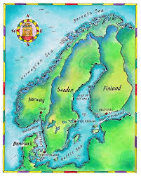 map northern europe scandinavia cruising northern europe baltic cruises