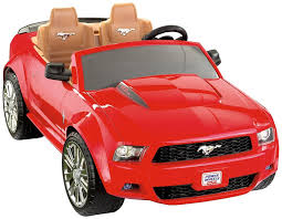 cartoon sports car side view amazon com fisher price power wheels ford mustang toys u0026 games