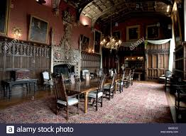 The Dining Room In Powderham Castle Exeter Stock Photo Royalty - Castle dining room
